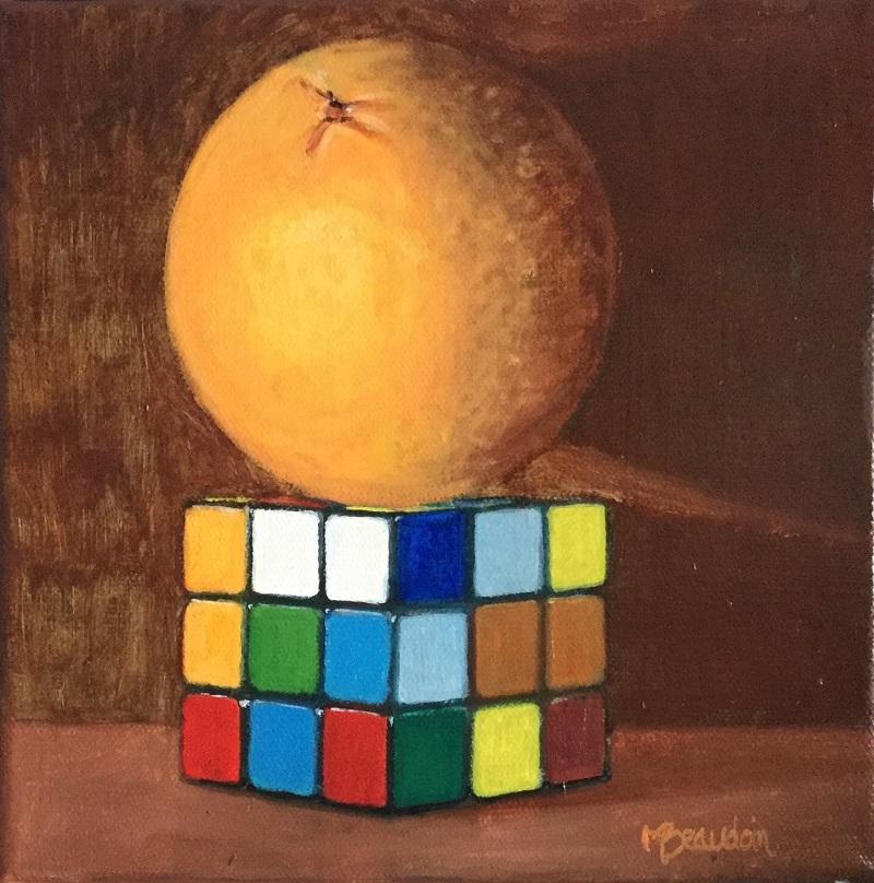 Orange Rubik