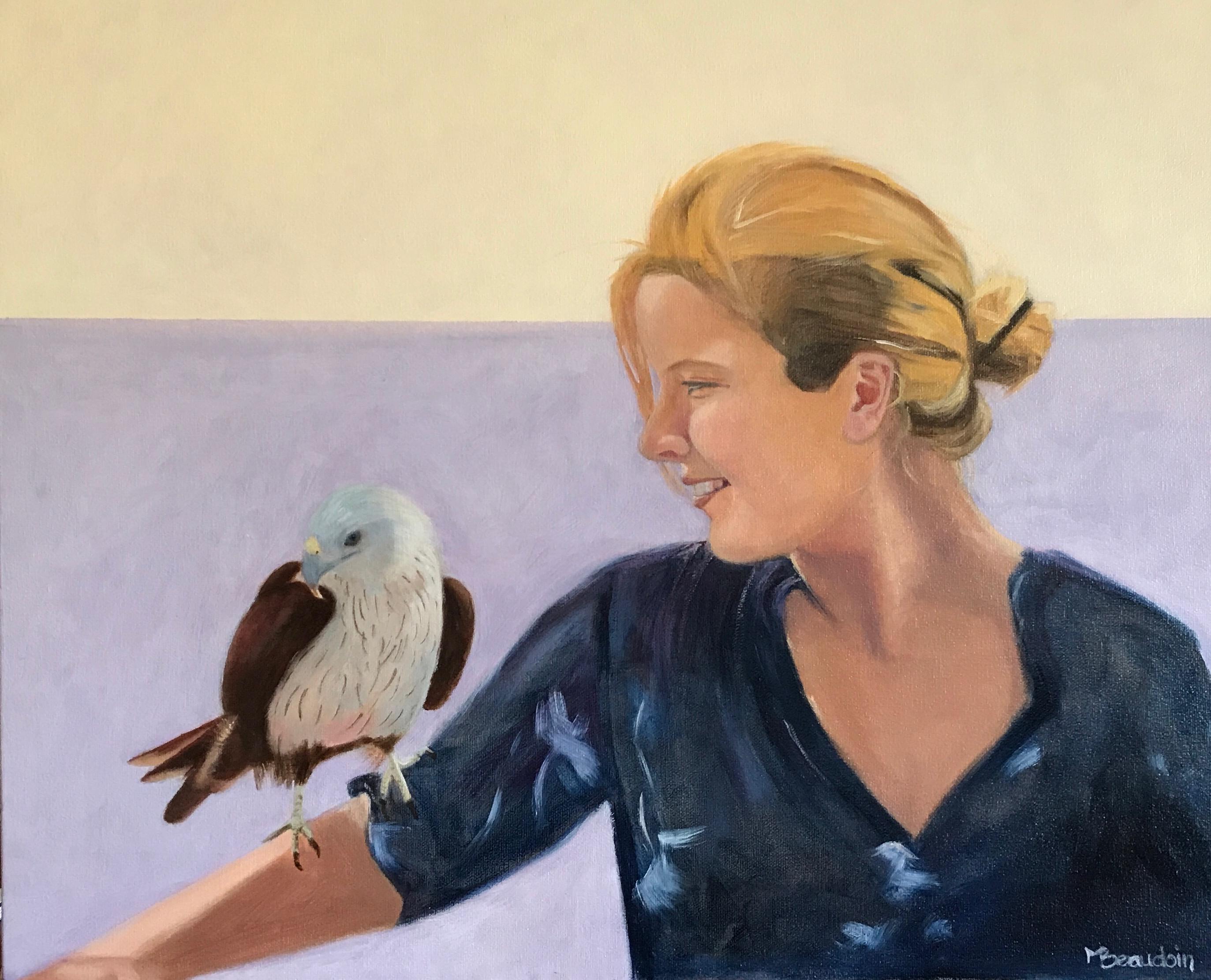 La belle et le faucon