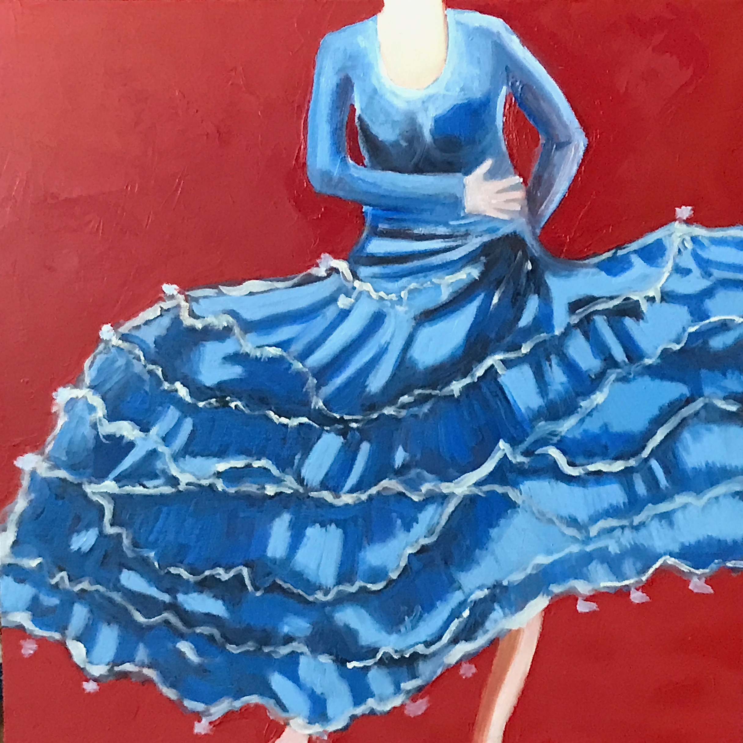 Danseuse de flamenco #1