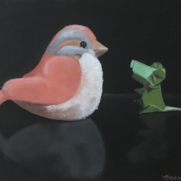 L'oiseau en peluche et la souris verte / Stuffed bird and the green mouse