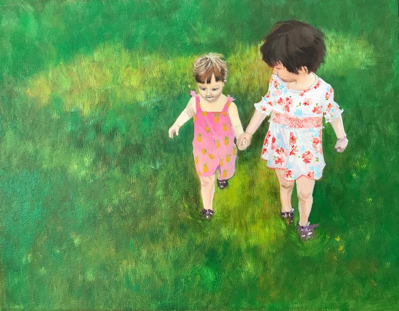 peinture à l'huile sur toile de Myriame Beaudoin artiste peintre alias MyriBo
