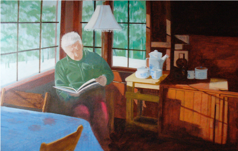 huile sur toile de Myriame Beaudoin artiste peintre alias MyriBo